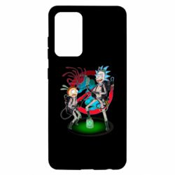 Чохол для Samsung A52 5G Rick and Morty as Ghostbusters