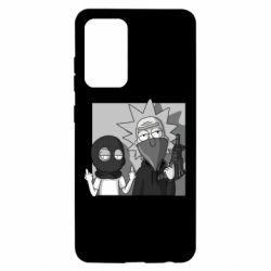 Чехол для Samsung A52 5G Rick and Morty Bandits