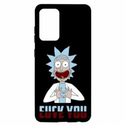 Чохол для Samsung A52 5G Rick and Morty fack and love you