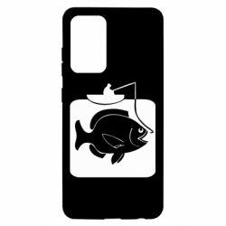 Чохол для Samsung A52 5G Риба на гачку