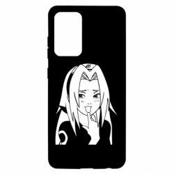 Чехол для Samsung A52 5G Sakura girl