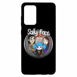 Чехол для Samsung A52 5G Sally face soundtrack