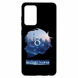 Чохол для Samsung A52 5G Silhouette City Detroit: Become Human