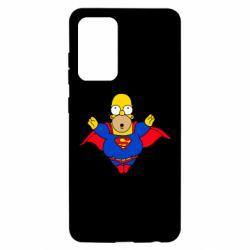 Чехол для Samsung A52 5G Simpson superman