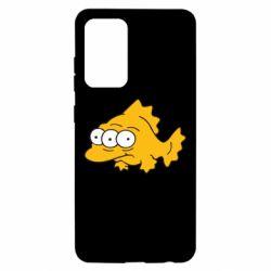 Чехол для Samsung A52 5G Simpsons three eyed fish