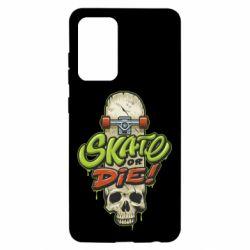 Чохол для Samsung A52 5G Skate or die skull
