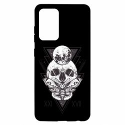 Чохол для Samsung A52 5G Skull with insect