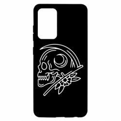 Чохол для Samsung A52 5G Skull with scythe