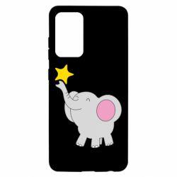 Чохол для Samsung A52 5G Слон із зірочкою