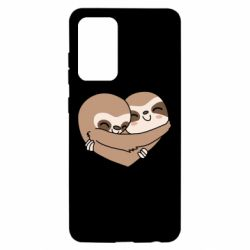 Чохол для Samsung A52 5G Sloth lovers