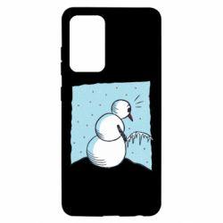 Чохол для Samsung A52 5G Snowman. It's Cold!