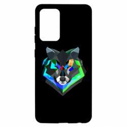 Чехол для Samsung A52 5G Сolorful wolf