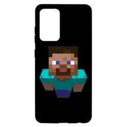 Чехол для Samsung A52 5G Steve from Minecraft
