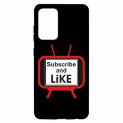 Чохол для Samsung A52 5G Subscribe and like youtube