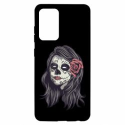 Чохол для Samsung A52 5G Sugar girl with a rose