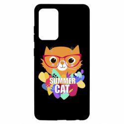 Чохол для Samsung A52 5G Summer cat