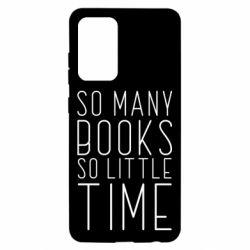 Чохол для Samsung A52 5G Так багато книг так мало часу