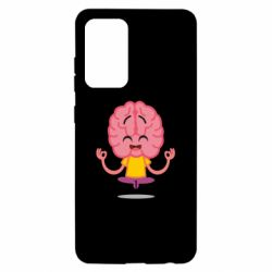 Чохол для Samsung A52 5G The brain meditates