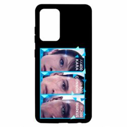 Чохол для Samsung A52 5G The faces of androids game Detroit: Become human