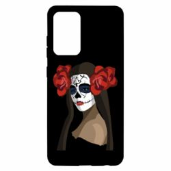 Чохол для Samsung A52 5G The girl in the image of the day of the dead