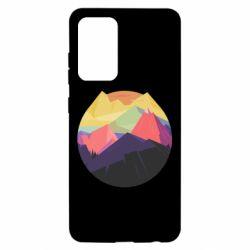 Чехол для Samsung A52 5G The mountains Art