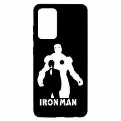 Чехол для Samsung A52 5G Tony iron man