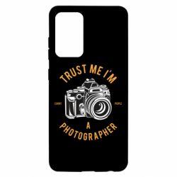 Чохол для Samsung A52 5G Trust me i'm photographer