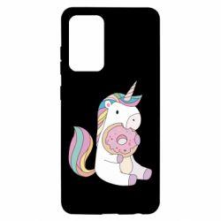 Чехол для Samsung A52 5G Unicorn and cake
