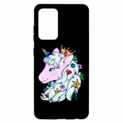 Чохол для Samsung A52 5G Unicorn Princess