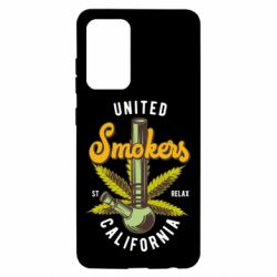 Чохол для Samsung A52 5G United smokers st relax California