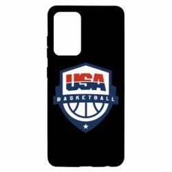 Чохол для Samsung A52 5G USA basketball