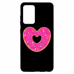 Чехол для Samsung A52 5G Я люблю пончик