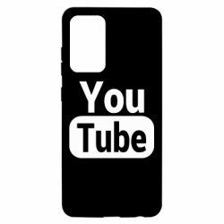 Чохол для Samsung A52 5G Youtube vertical logo