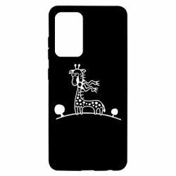 Чохол для Samsung A52 5G жираф