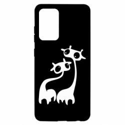 Чохол для Samsung A52 5G Жирафи