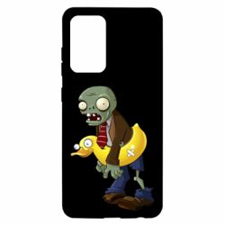 Чохол для Samsung A52 5G Zombie with a duck