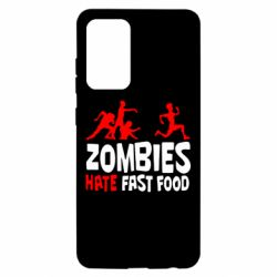 Чохол для Samsung A52 5G Zombies hate fast food