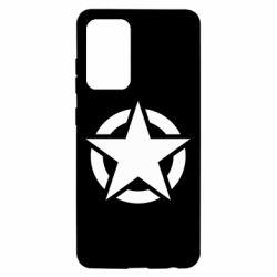 Чохол для Samsung A52 5G Зірка Капітана Америки