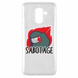 Чохол для Samsung A6+ 2018 Among Us Sabotage