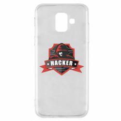 Чохол для Samsung A6 2018 Anonymous Hacker