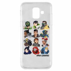 Чохол для Samsung A6 2018 Apex legends heroes