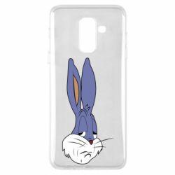 Чохол для Samsung A6+ 2018 Bugs Bunny Meme Face