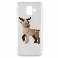 Чехол для Samsung A6 2018 Cartoon deer