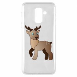 Чехол для Samsung A6+ 2018 Cartoon deer