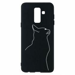 Чохол для Samsung A6+ 2018 Cat line