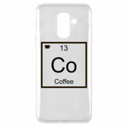 Чохол для Samsung A6+ 2018 Co coffee