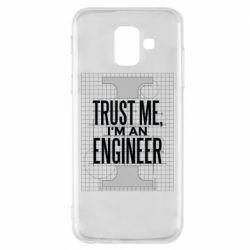 Чохол для Samsung A6 2018 Довірся мені я інженер