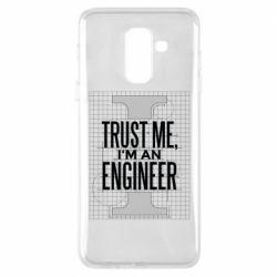 Чохол для Samsung A6+ 2018 Довірся мені я інженер