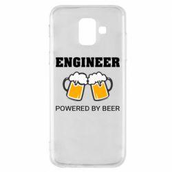 Чохол для Samsung A6 2018 Engineer Powered By Beer