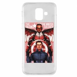 Чохол для Samsung A6 2018 Falcon and the Winter Soldier Art